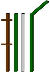 изготовление металлические столбы в Череповце