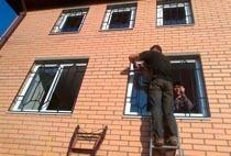 Монтаж решеток в Череповце