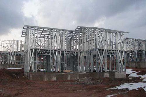 Здания на основе облегчённого металлического каркаса в Череповце